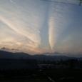 2007年1月3日諏訪湖上空
